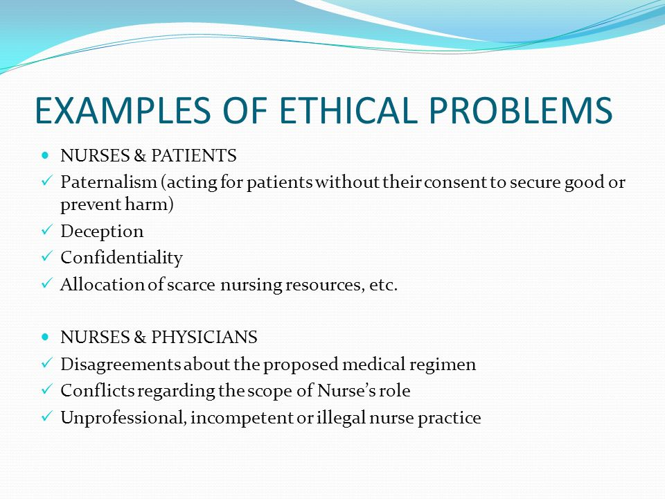 ethical issues in nursing articles However, clinical articles identified many issues that school nurses face and most make recommendations for individual or collective action by school nurses in doing this sorting, the school nurse can more clearly articulate the ethical issues and the justification for final decision.