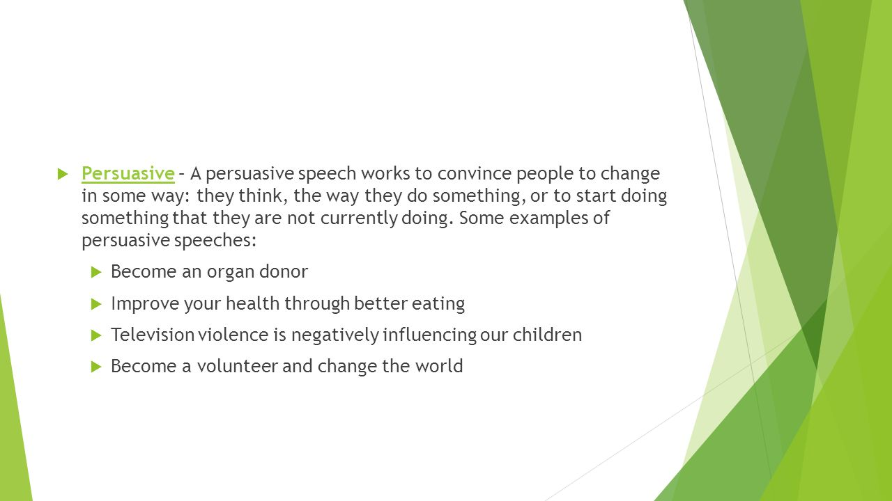 speech about healthy lifestyle
