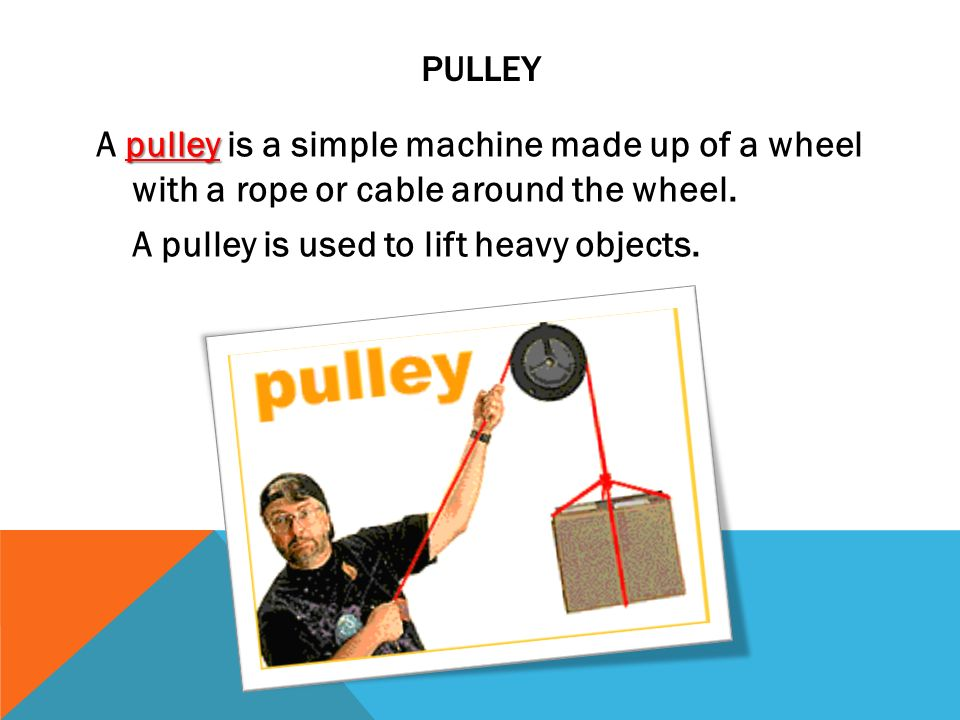 how to make a pulley system to lift heavy objects