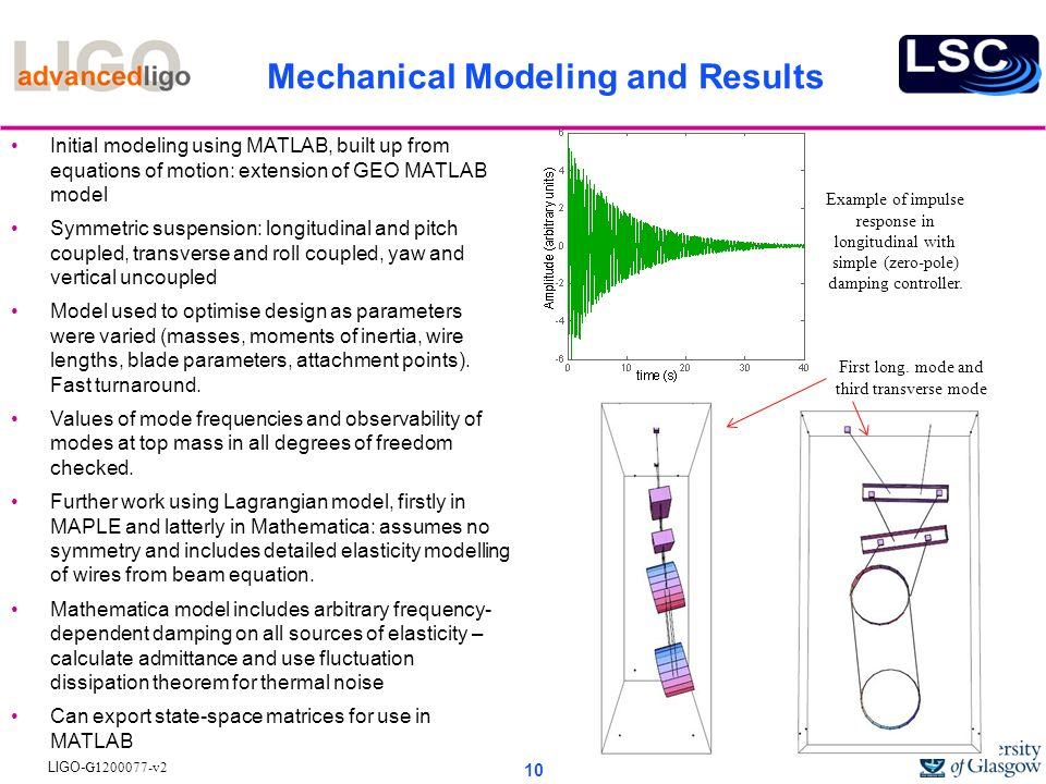 Mechanical Modeling and Results
