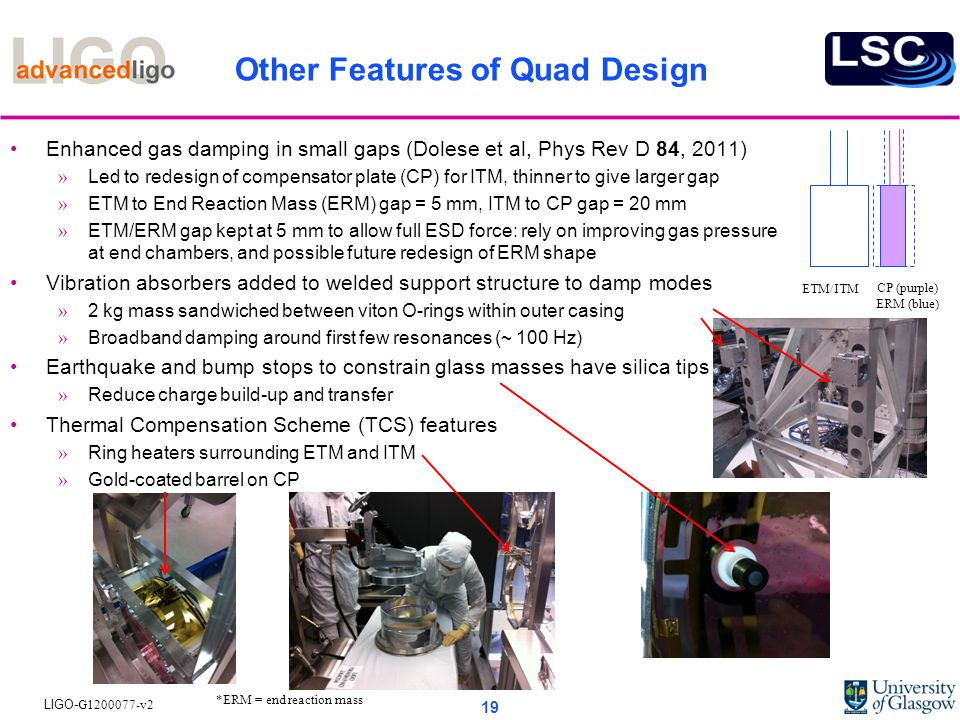 Other Features of Quad Design