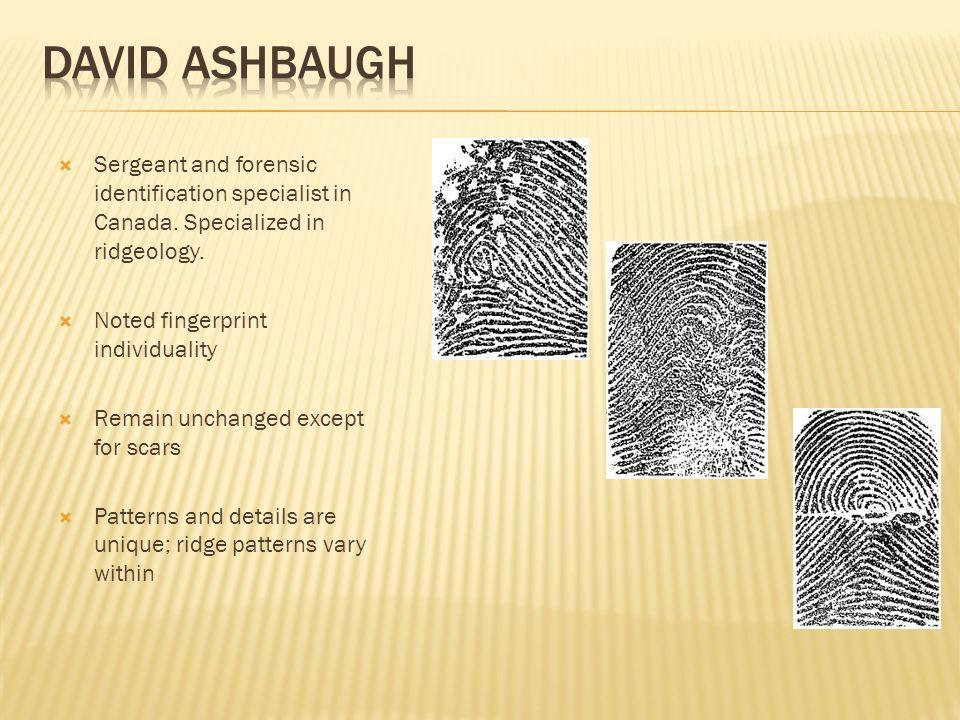 The Evolution Of Fingerprinting Ppt Video Online Download