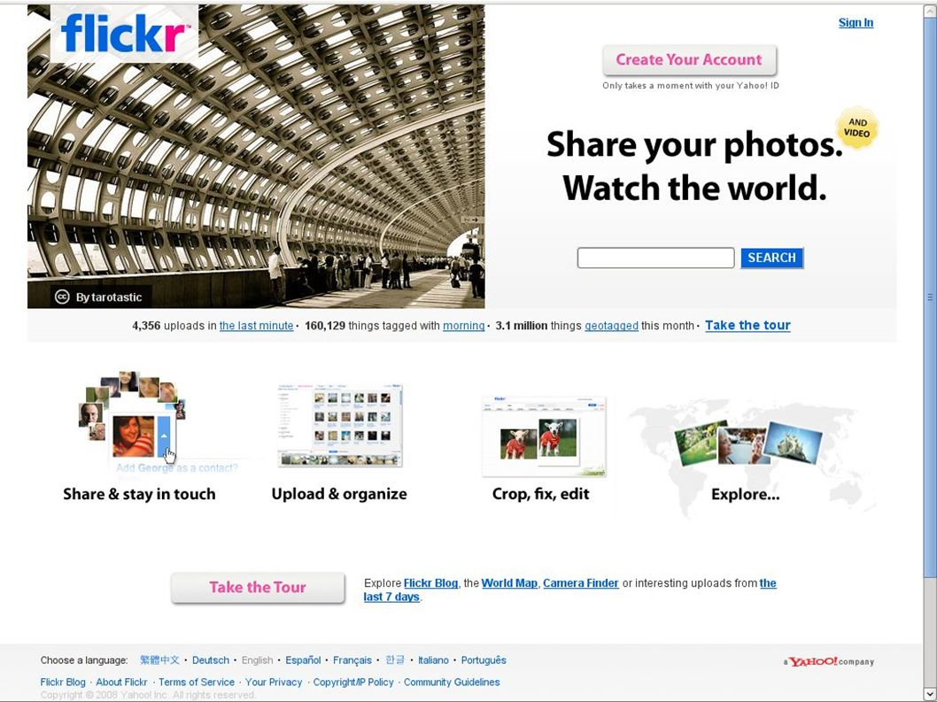 Flickr one of the largest pools of CC-licensed works