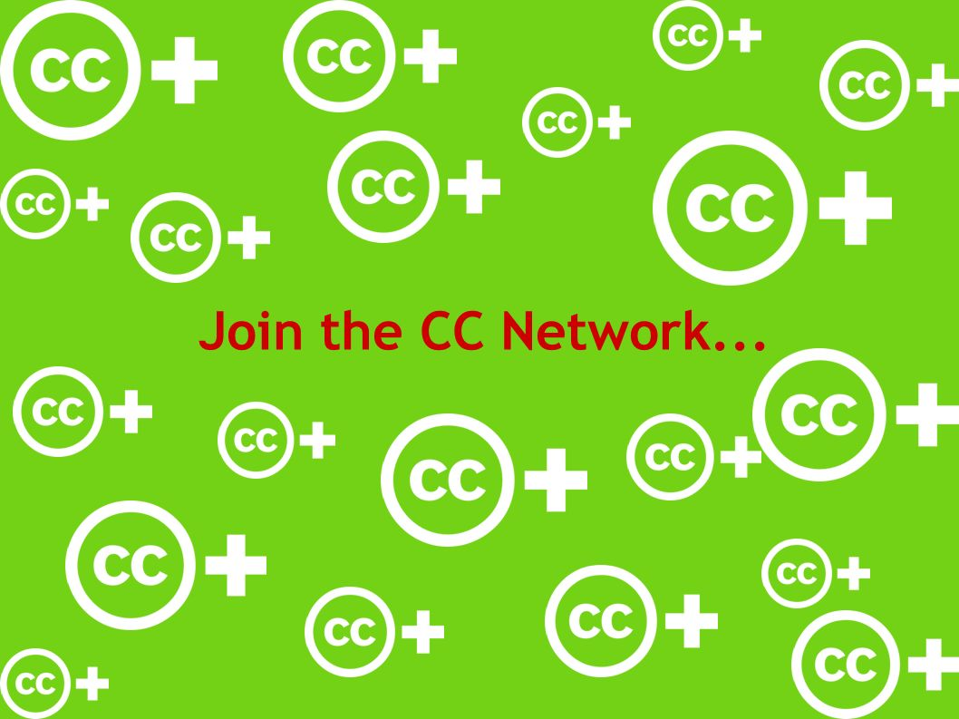 Join the CC Network...