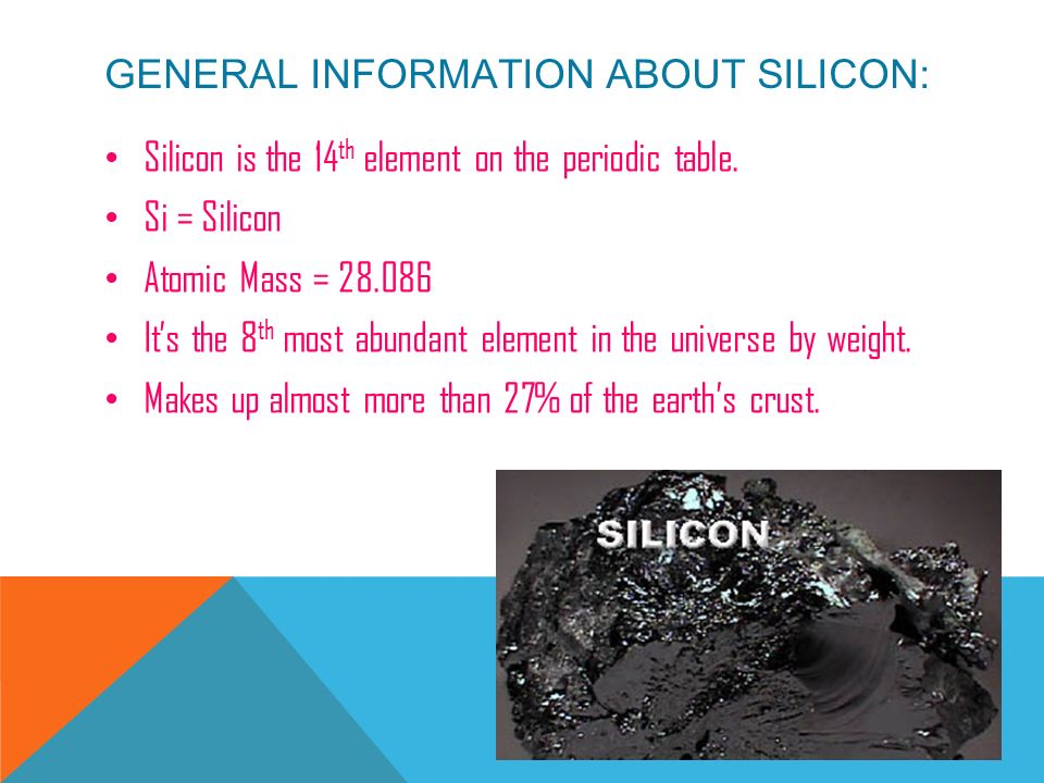 Silicon By Paige Foster Ppt Video Online Download