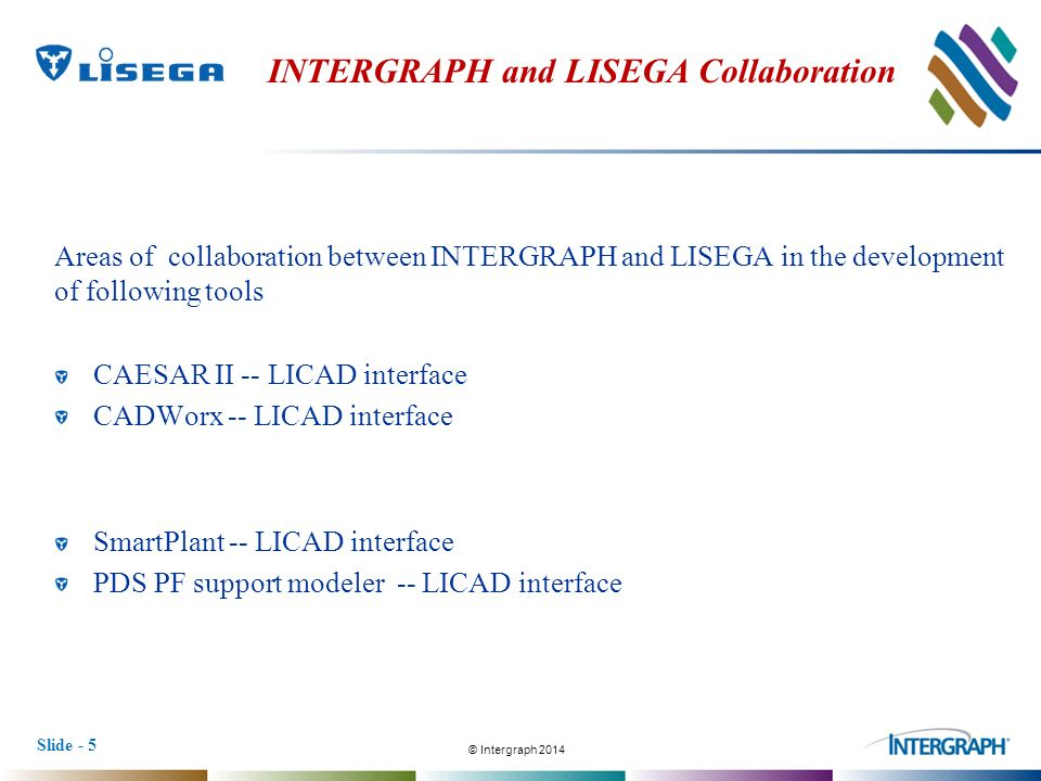 Design software licad for support design by lisega: lisega se.
