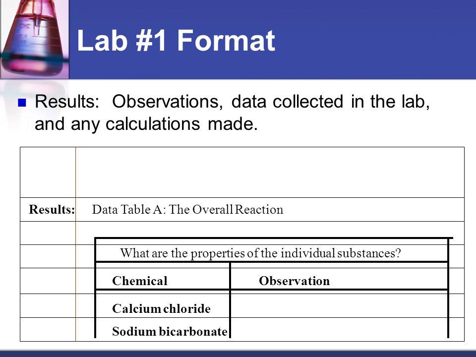 Chemistry Laboratory Notebook Format  - ppt video online