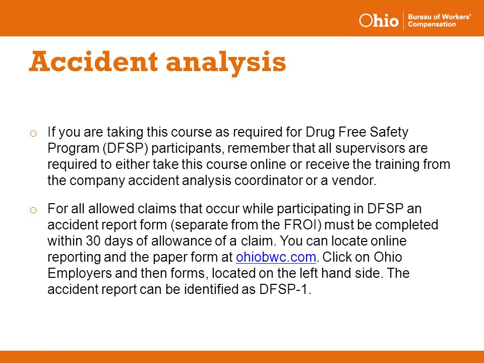Accident analysis One-hour training  - ppt video online download