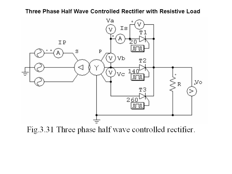 Three Phase Half Wave Controlled Rectifier with Resistive Load - ppt on 3 phase power, 3 phase current, 3 phase capacitors, 3 phase ohm's law, 3 phase circuits, 3 phase block diagram, 3 phase fuse box, 3 phase heating coil, 3 phase installation, 3 phase electrical, 3 phase voltage, 3 phase wiring for dummies, 3 phase troubleshooting, 3 phase high leg delta, 3 phase service, 3 phase specification, 3 phase transformer flux, 3 phase blueprints, 3 phase inductor, 3 phase heating element diagram,