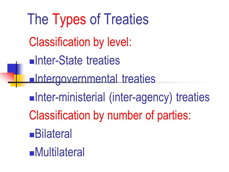 The Law Of Treaties Ppt Download
