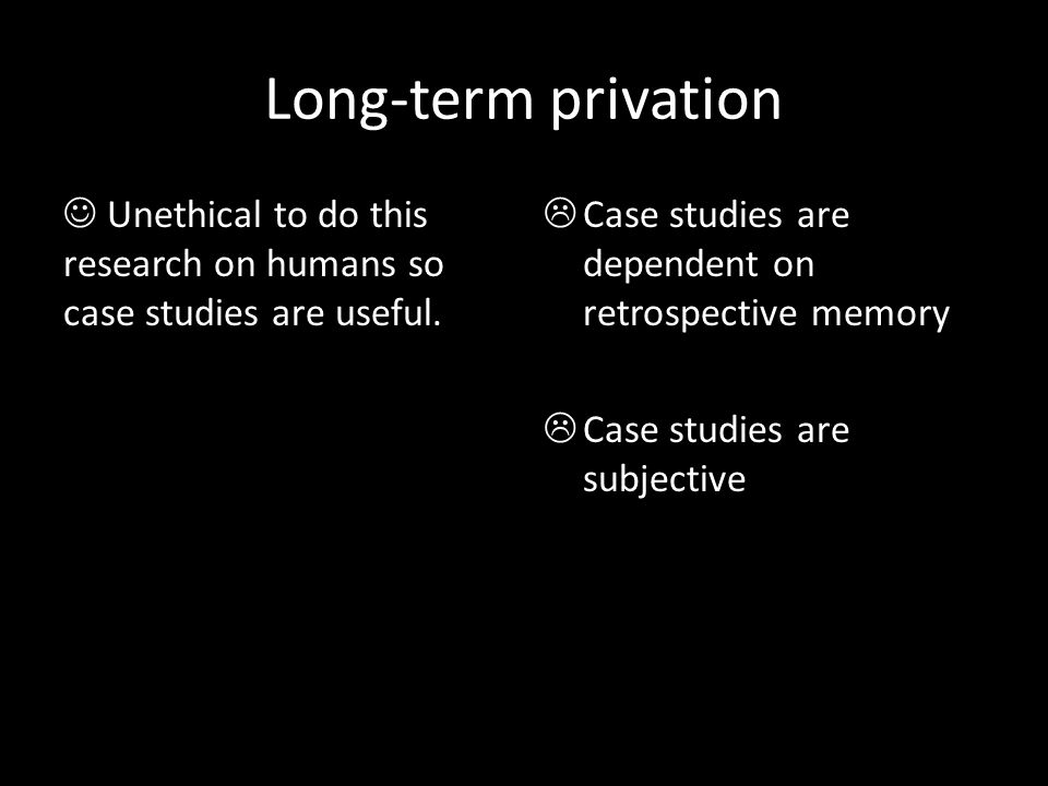 what does privation mean