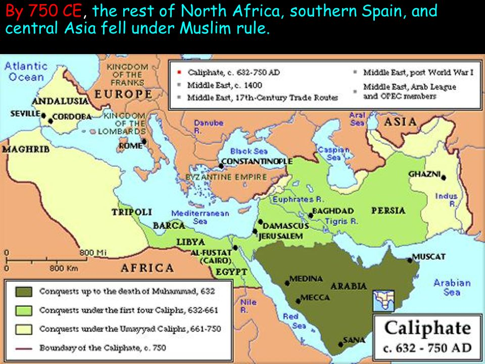 Map Of Spain Under Muslim Rule.Agenda Kahoot Warm Up The Expansion Of Islam Five Pillar Foldable