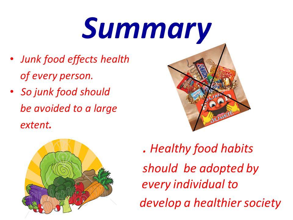 effect of junk food on human health