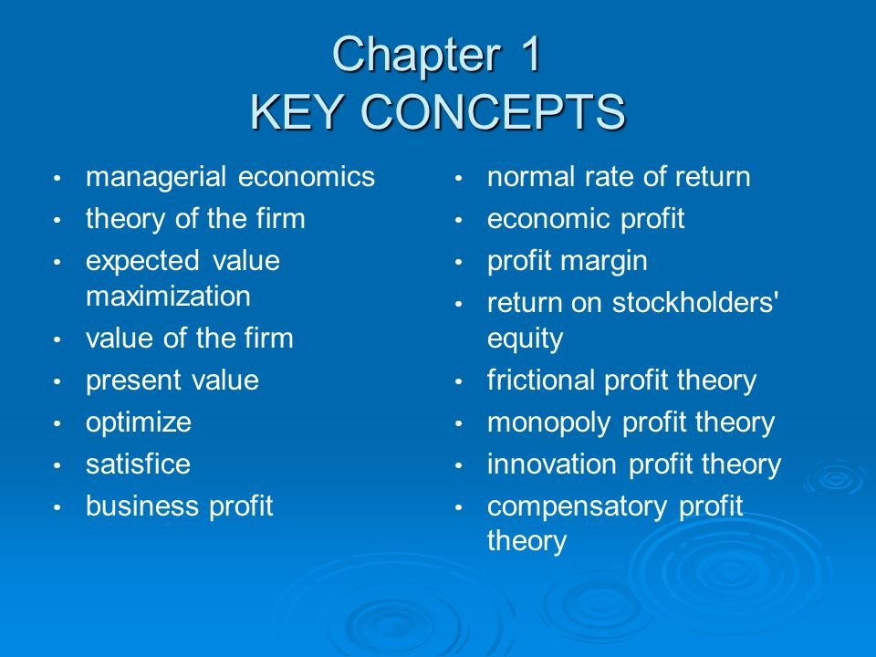 Managerial economics 12th edition ppt download chapter 1 key concepts managerial economics theory of the firm fandeluxe Choice Image