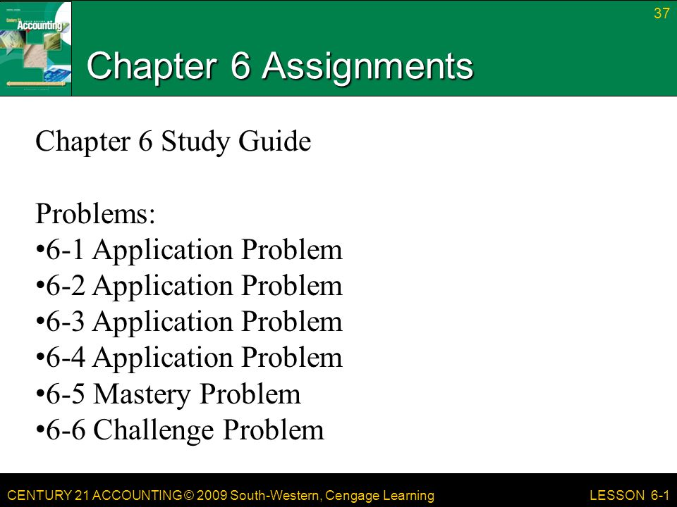 how to solve accounting problems