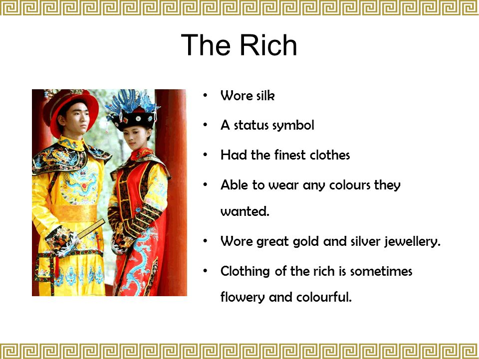 e27f26ed14 Lifestyles of Rich and Poor in Ancient China - ppt video online download