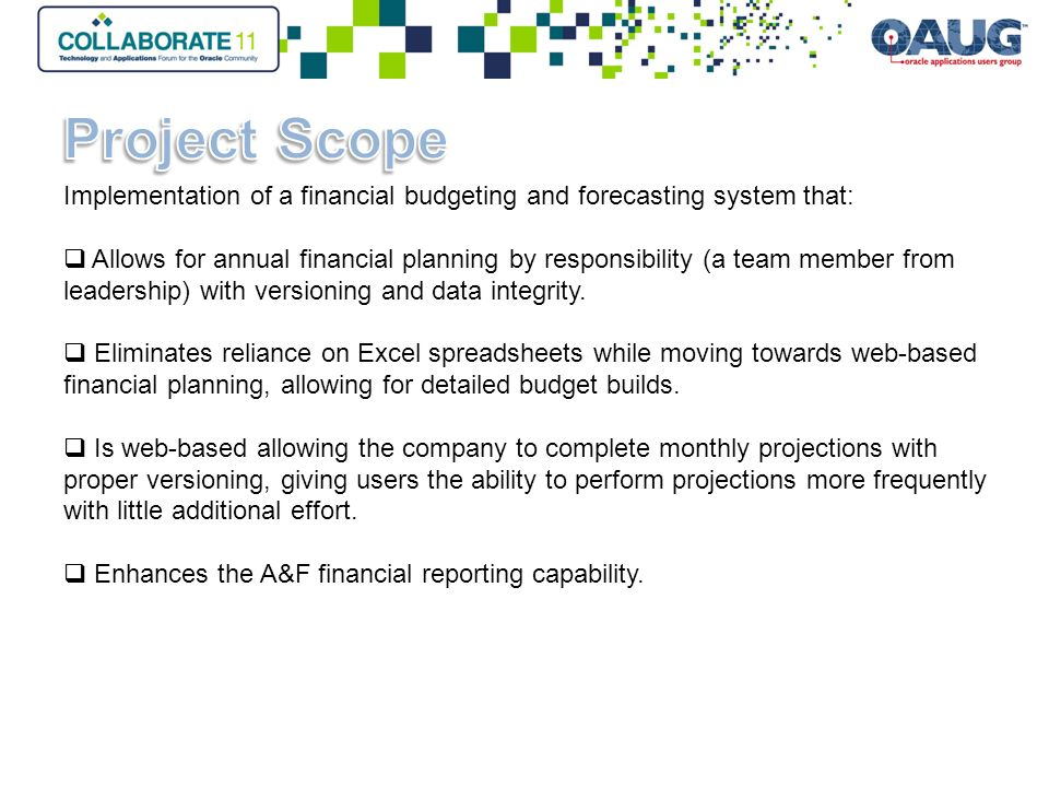 Driving Accountability Through Disciplined Planning at