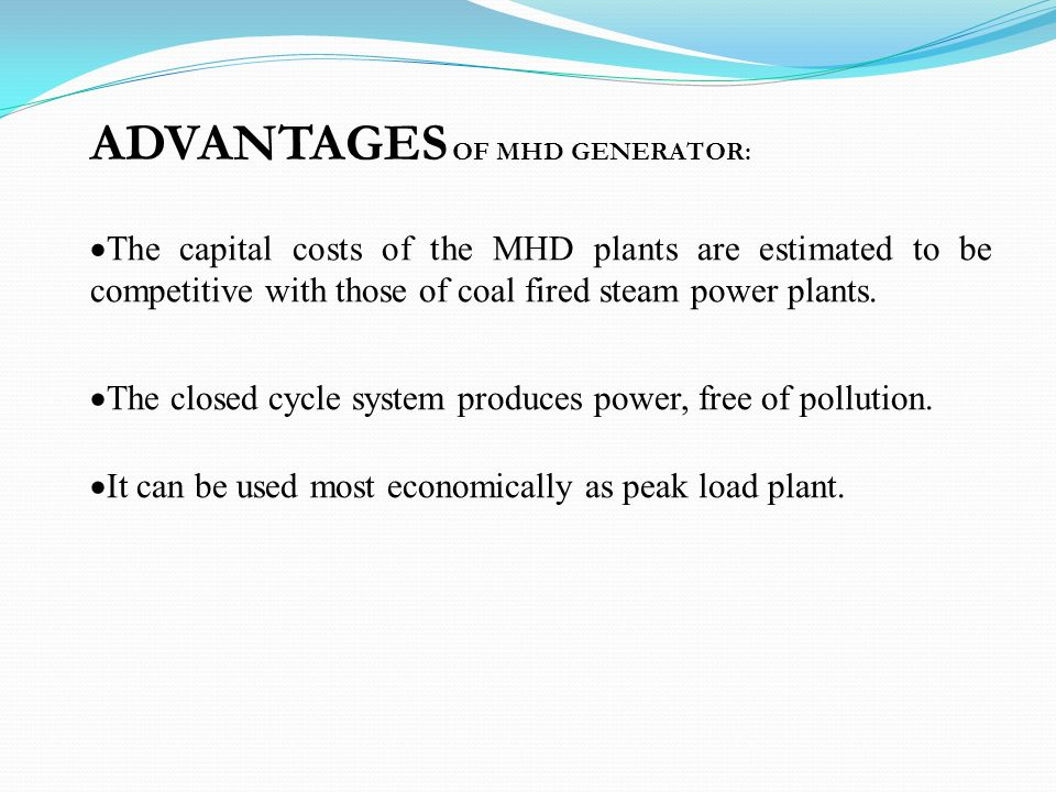 Magneto hydrodynamic (MHD) Power Generation - ppt video