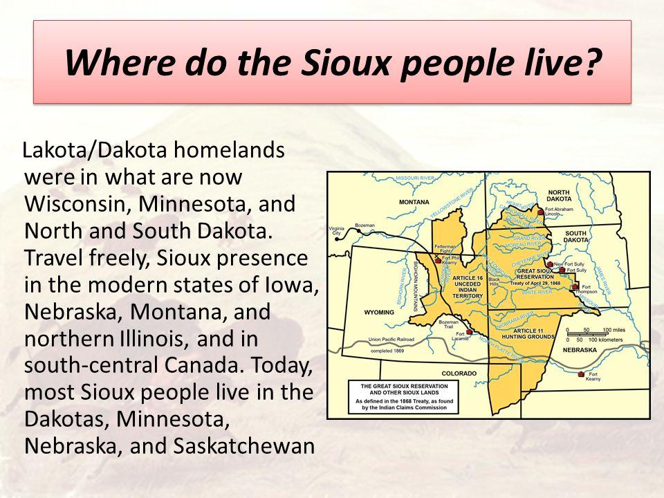 Sioux Indians The Lakota also known as Teton, Tetonwan
