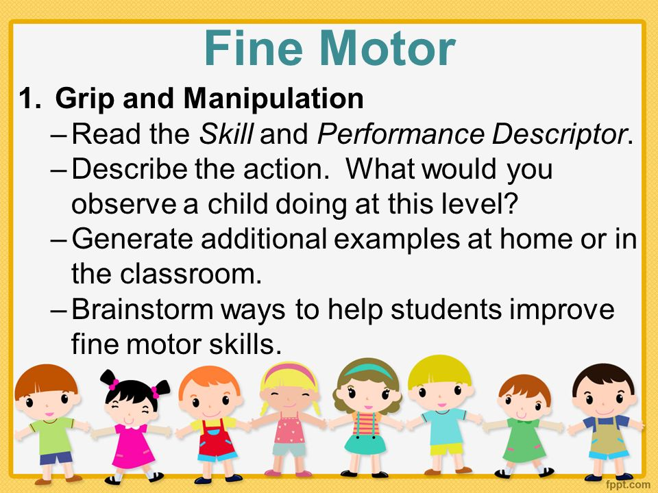 Fine Motor Skills Examples Image Collections Example Cover Letter