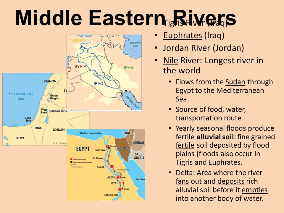 Jordan River Middle East Map.Physical Geography Of North Africa Southwest Asia Middle East