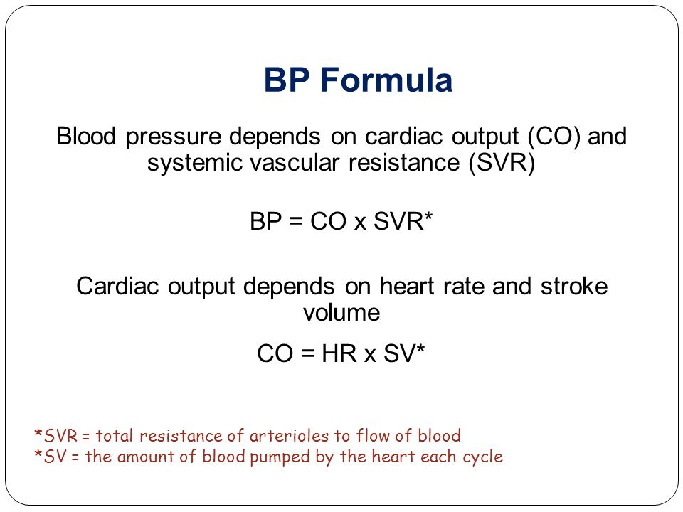 Blood Pressure Ppt Video Online Download