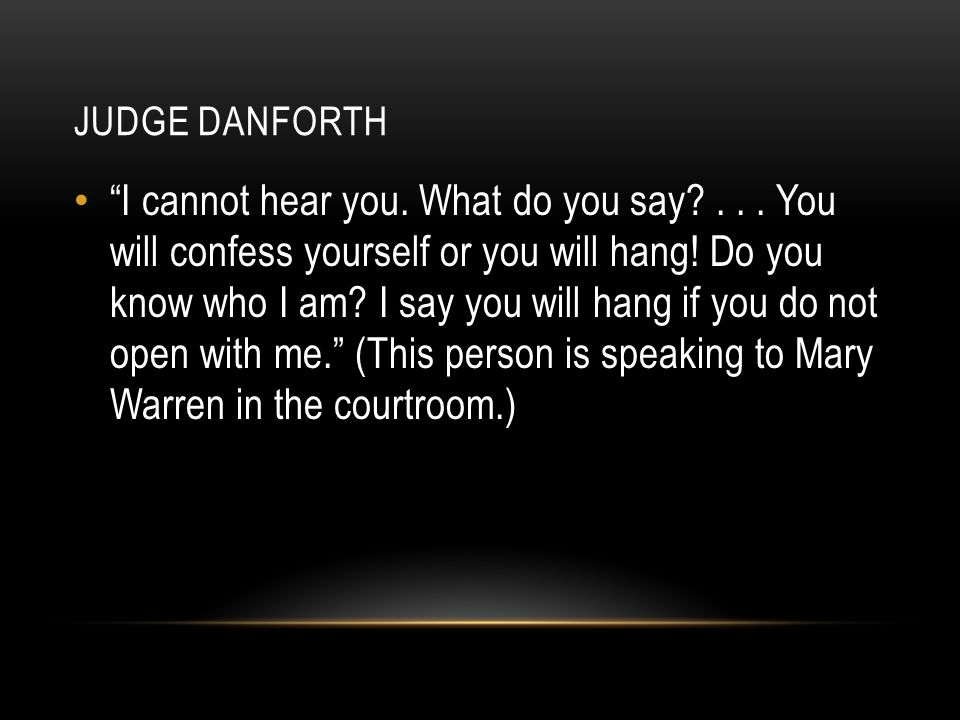 Judge danforth
