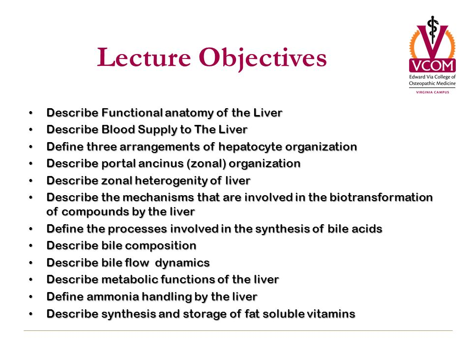Liver: Transport and Metabolic Functions I - ppt download