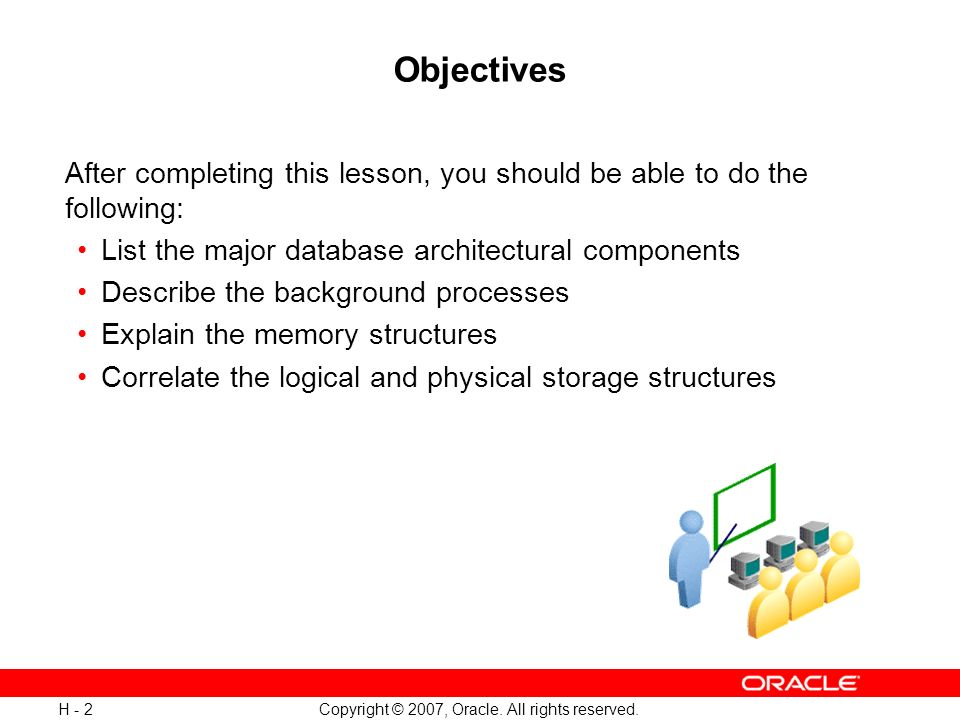 Oracle Database Architectural Components - ppt download