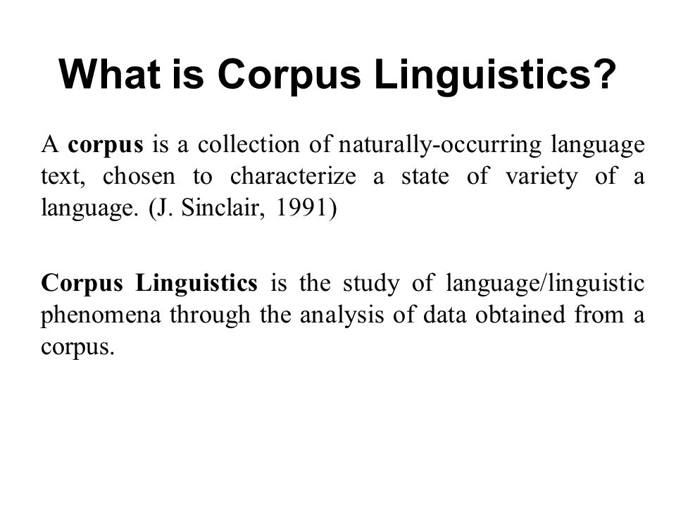 Image result for corpus linguistics