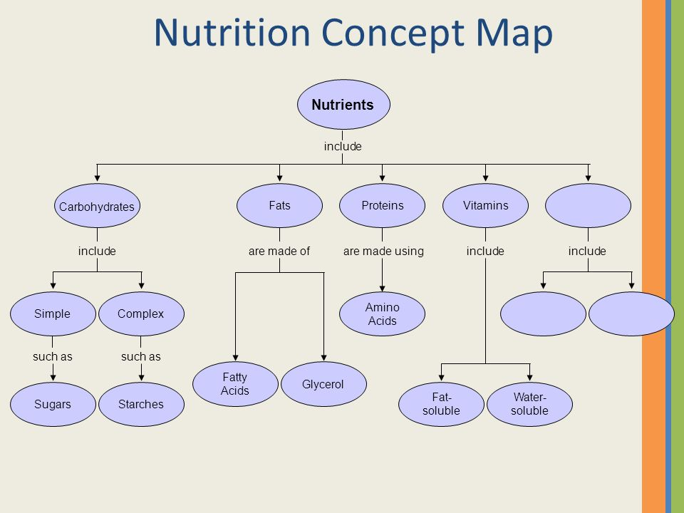 Proteins Concept Map.Good Food Sense Nutrition Ppt Video Online Download