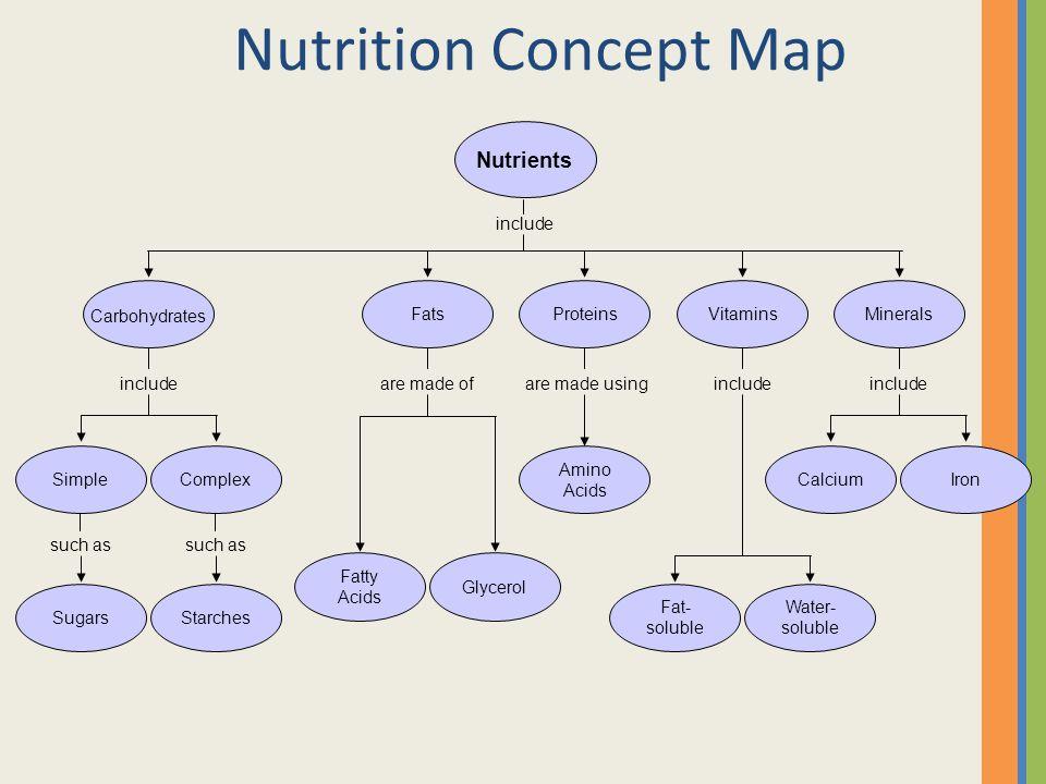 Mineral Concept Map.Good Food Sense Nutrition Ppt Video Online Download