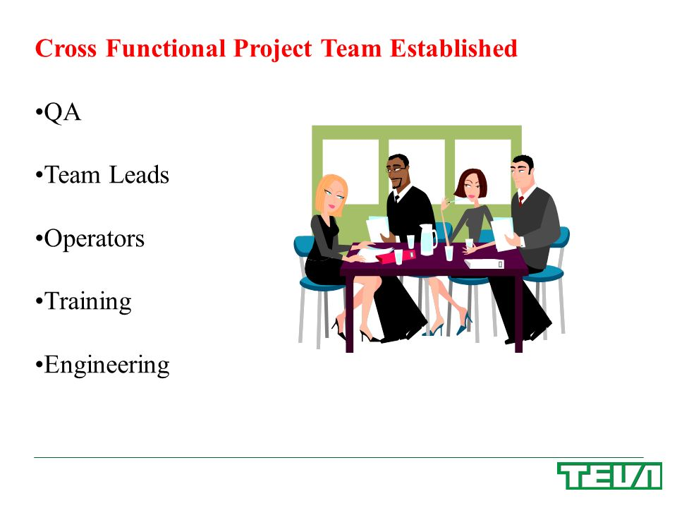 Cross Functional Project Team Established
