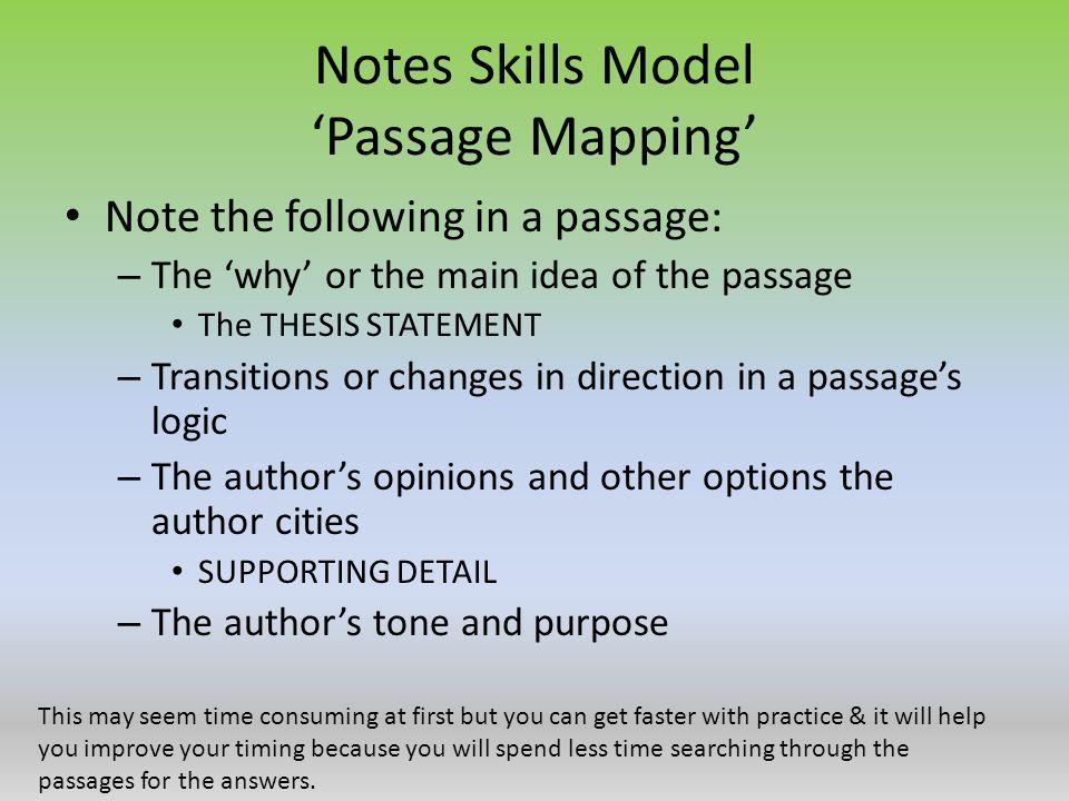 SAT Method for Reading Comprehension Skills - ppt video
