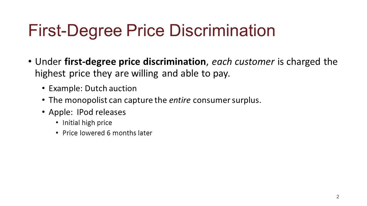 monopoly price discrimination example