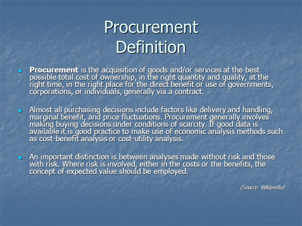 Procurment Data Acquisition Principles : Bidding and tendering principles ppt video online download
