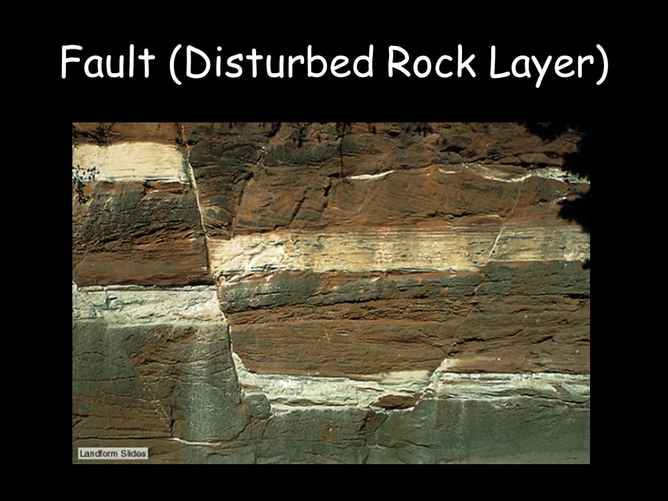The rock and fossil record ppt video online download 6 fault disturbed rock layer publicscrutiny Gallery