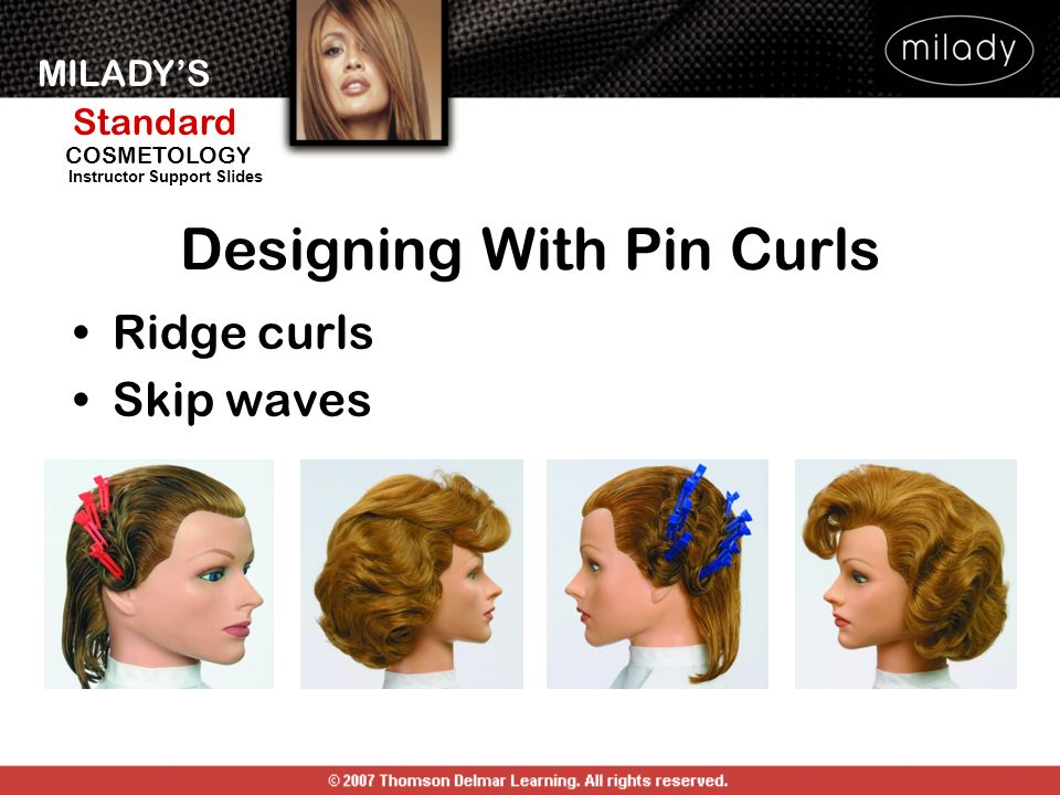 designing with pin curls
