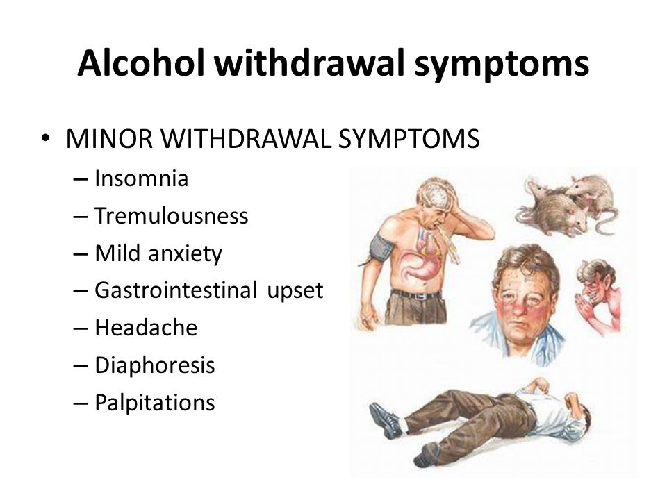 Managing Alcohol and Opioid Withdrawals - ppt video online