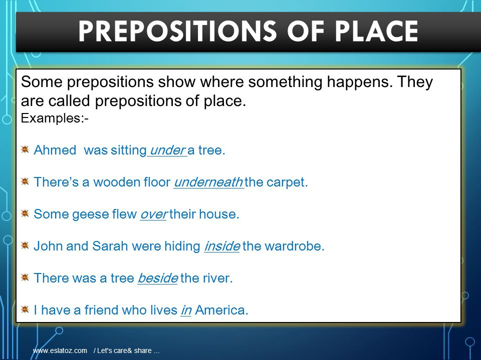 Prepositions Definition Ppt Video Online Download