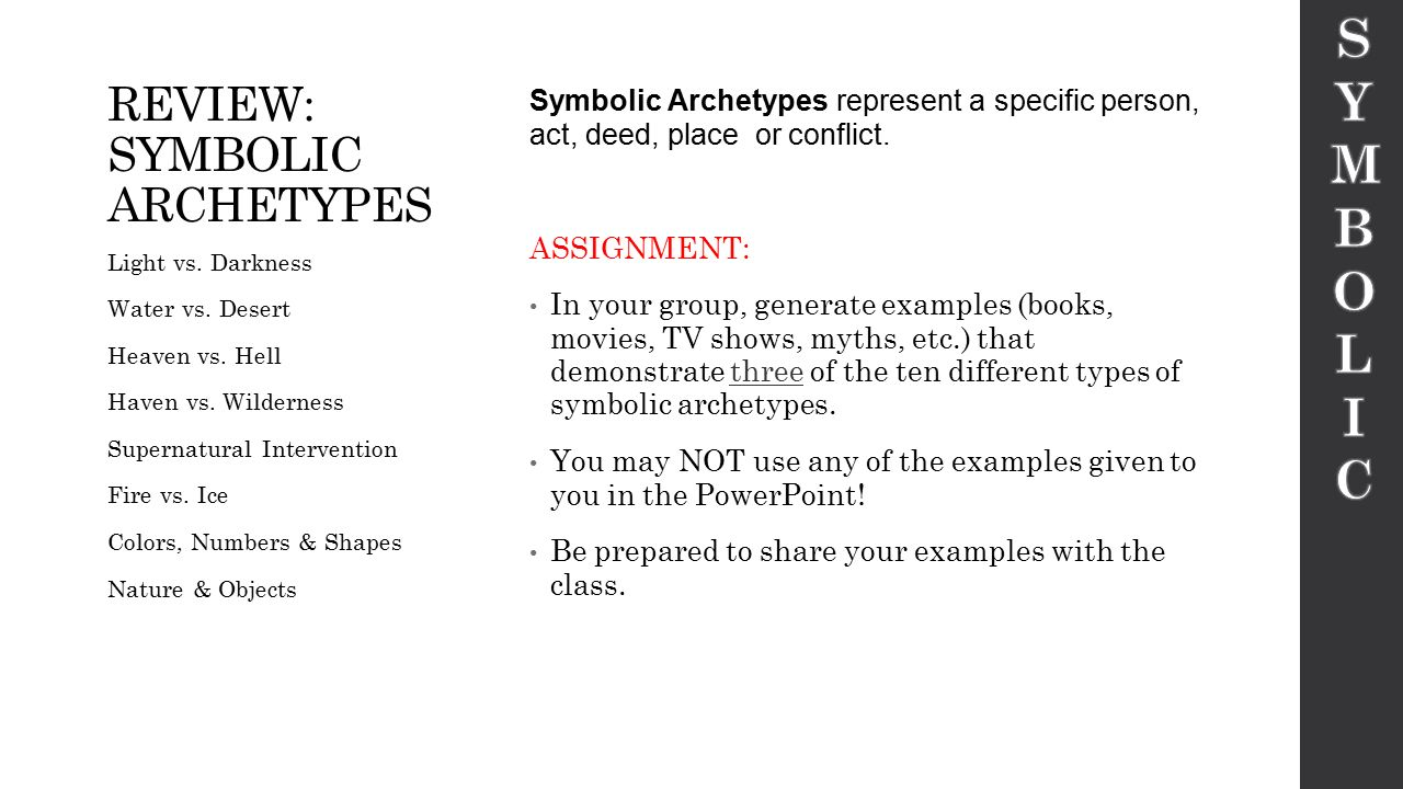 Archetypes By Meghan Coffey Ppt Download