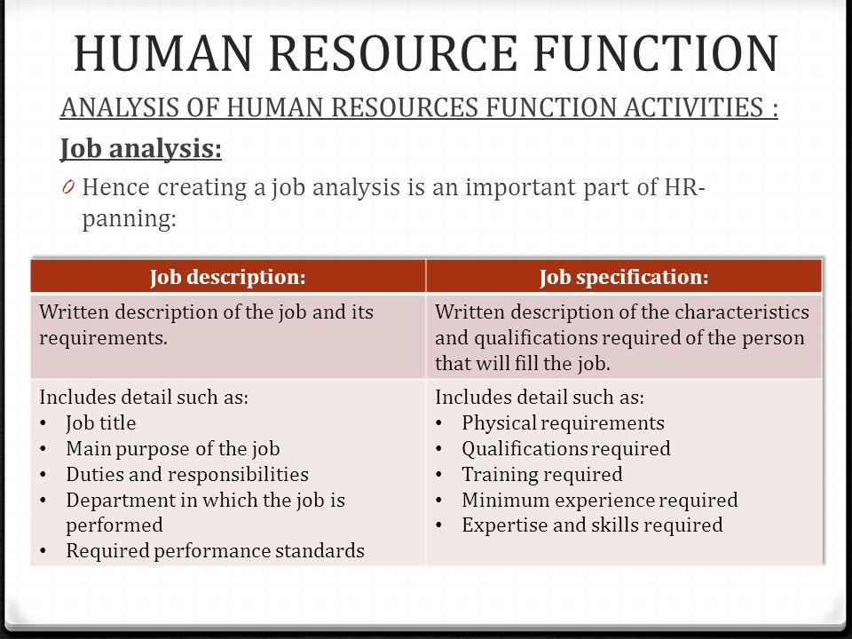 7 HUMAN RESOURCE FUNCTION