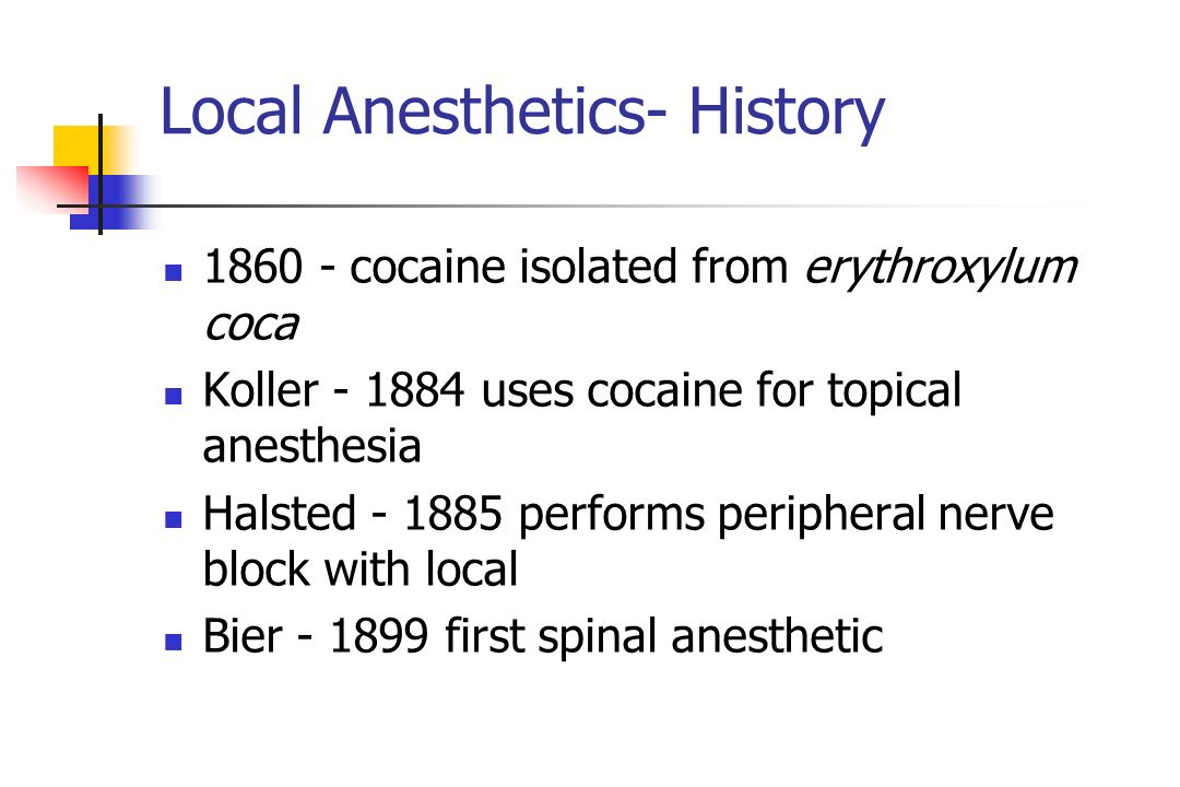adipex and local anesthesia