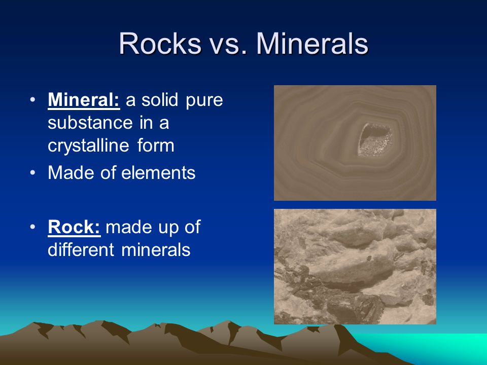Rocks And Minerals Ppt Download