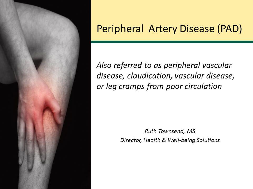 Peripheral vascular diseases.