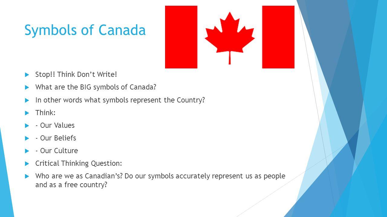 Symbols Of Canada Ppt Video Online Download