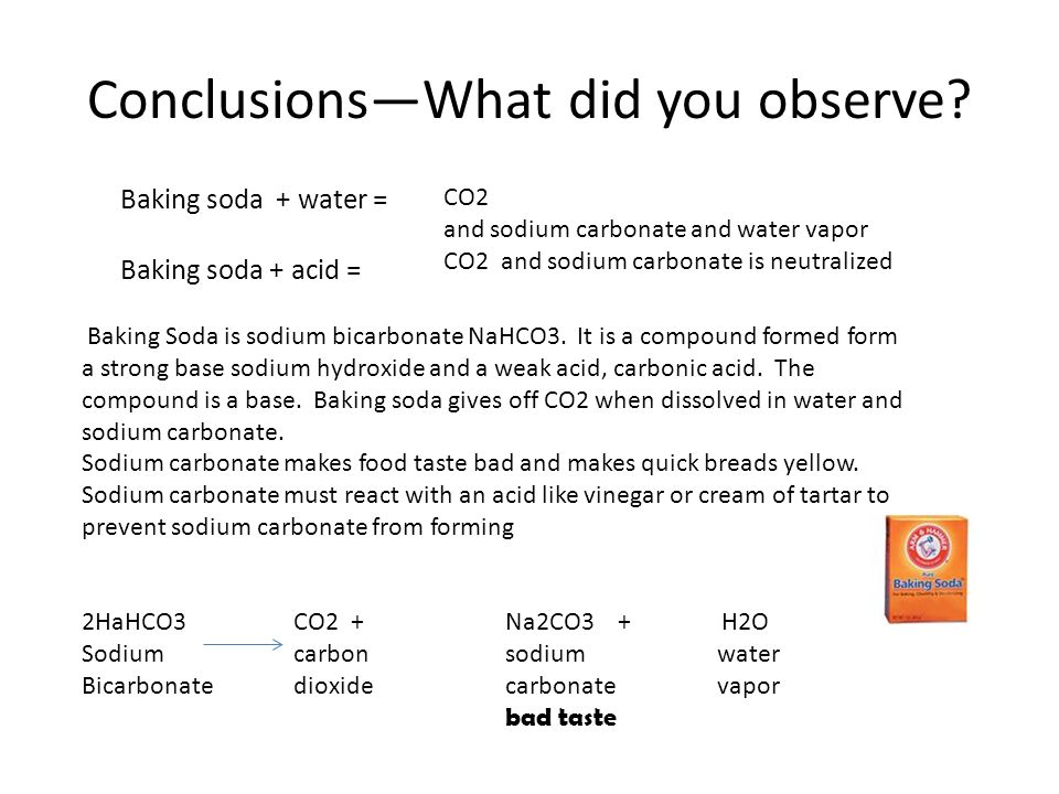 Cause and Effect The Chemistry of Leavening - ppt video