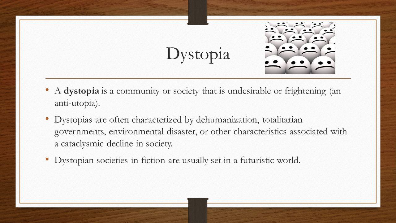 Utopia & Dystopia  - ppt download