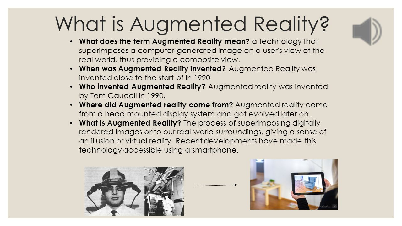 augmented reality power point - ppt download