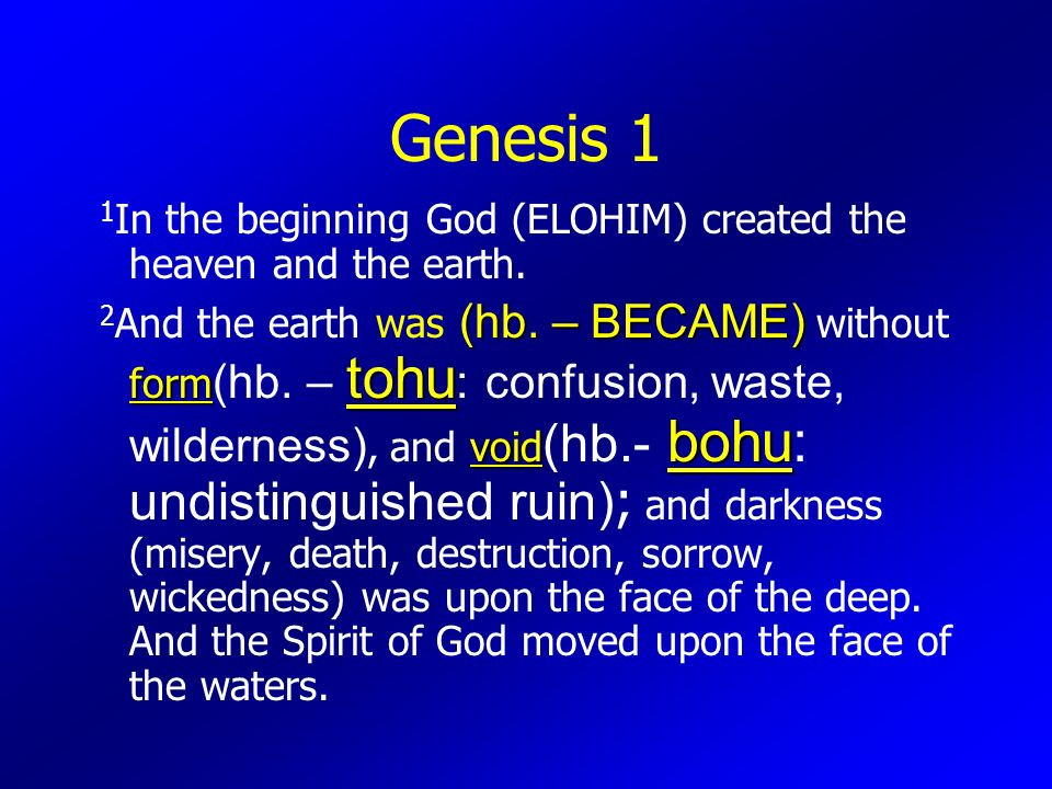 """The CHARACTER of GOD Part 2 """"ELOHIM""""  - ppt download"""